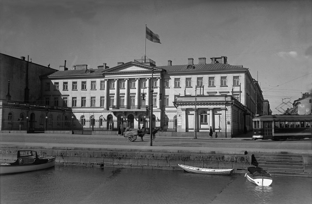 Presidentinlinna, kuva Helsingin kaupunginmuseo