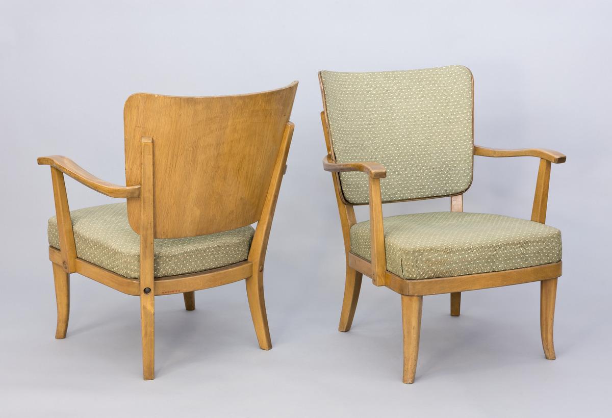 tuoli; nojatuoli; lepotuoli | Helsingin kaupunginmuseo
