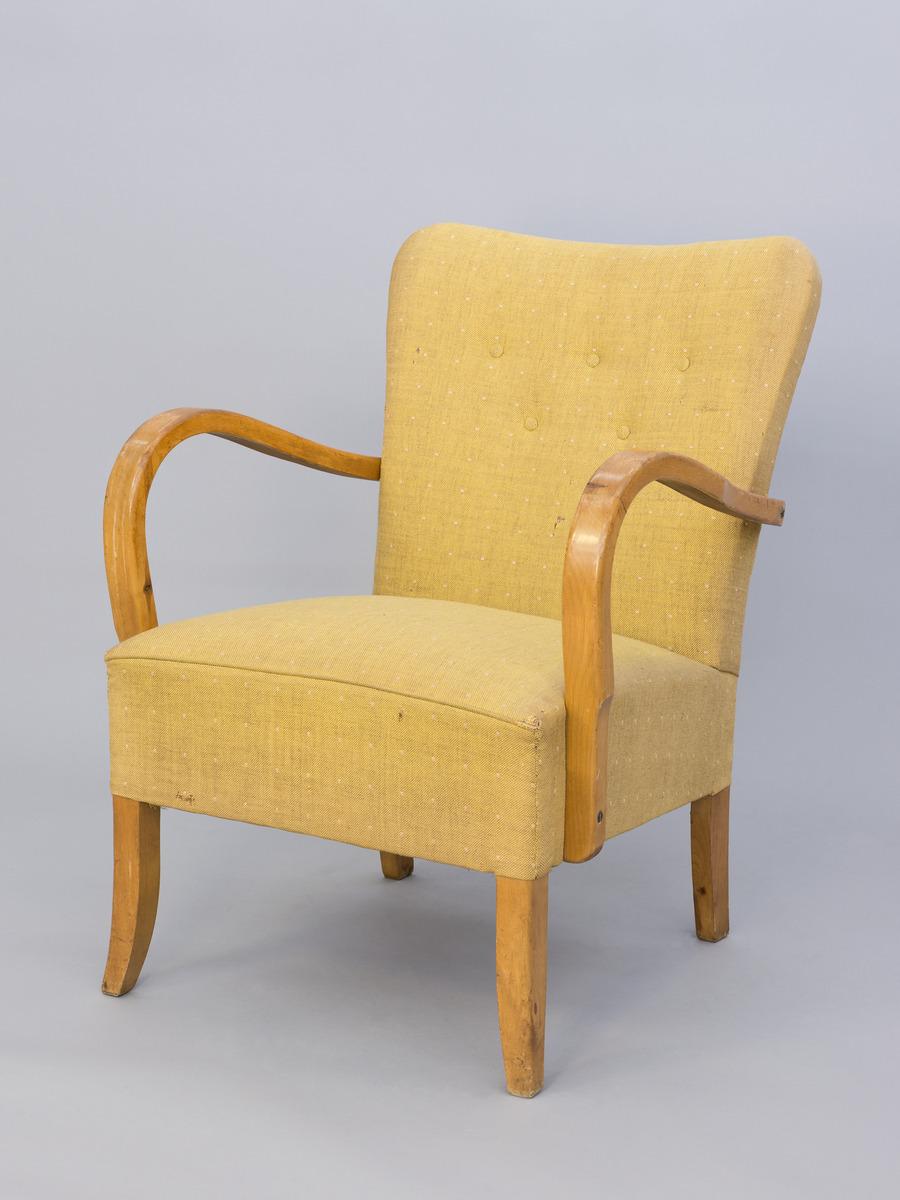 tuoli; nojatuoli; K tuoli | Helsingin kaupunginmuseo | Finna.fi