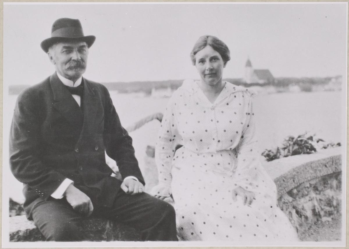 Presidenttipari Ståhlberg Kultarannassa, Kuva: Museovirasto