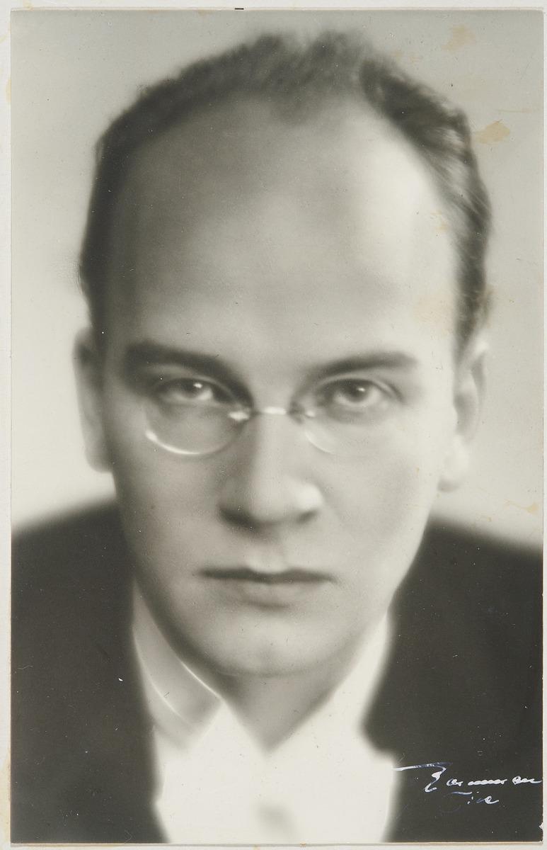 Eero Kosonen 1930-luvun puolivälissä