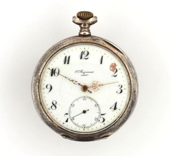 kello  taskukello  O. Rajanen  mekaaninen kello  0fdecdec6c