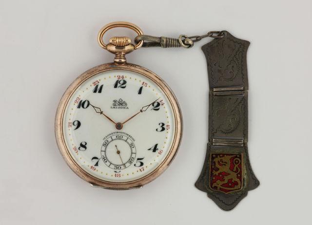 kello  Leijona  taskukello  kellonperät  05a192285c