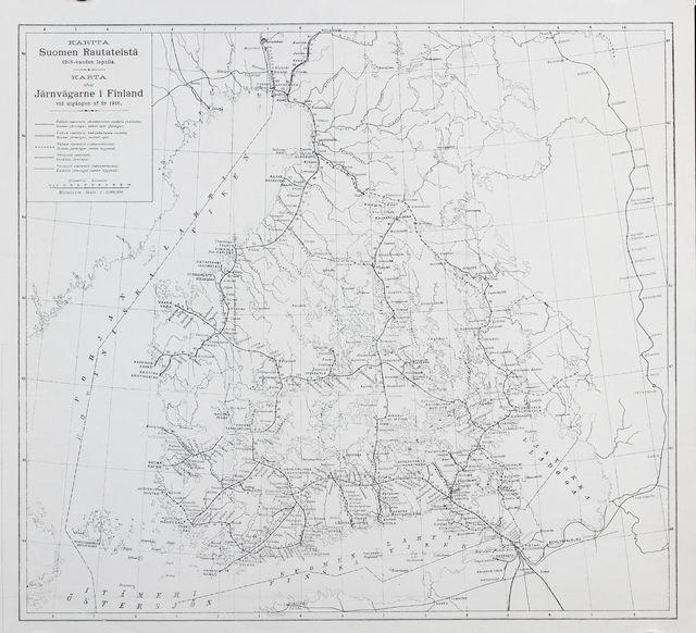Rautatie Kartta