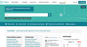 turkuamk.finna.fi screenshot